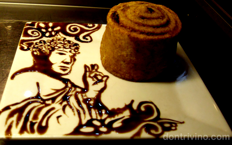 budha art Interesting Food Art