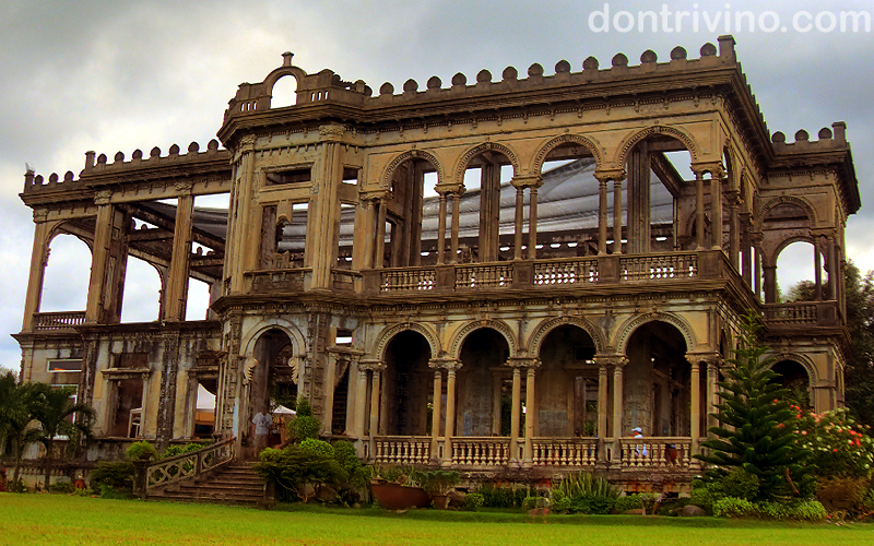 talisay ruins hdr photo The Talisay Ruins In Negros