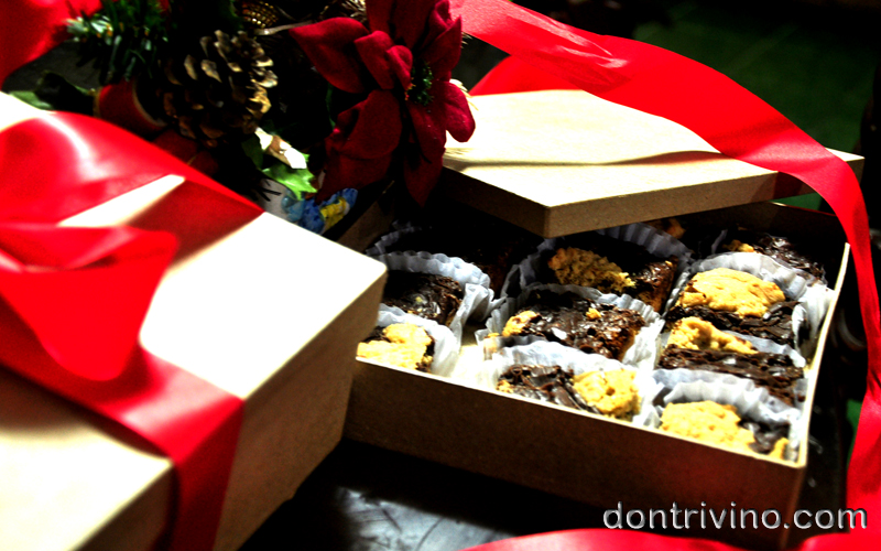 dontrivino My Christmas Revel Bars