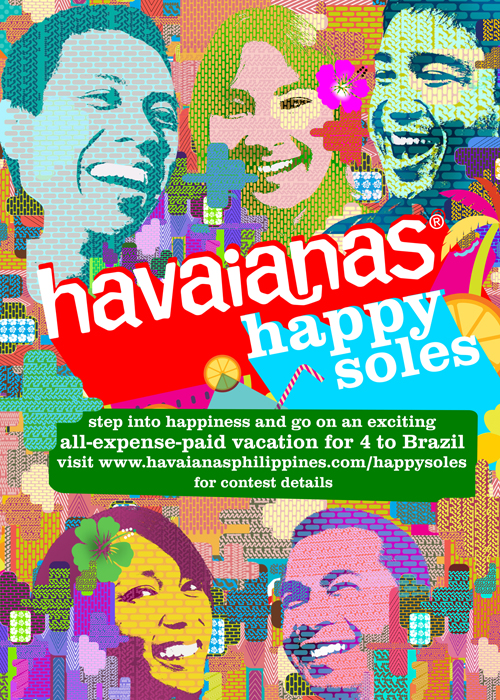 2havaianas Happy Soles Goes to Brazil